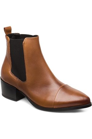 Pavement Parker Shoes Boots Ankle Boots Ankle Boots With Heel Brun