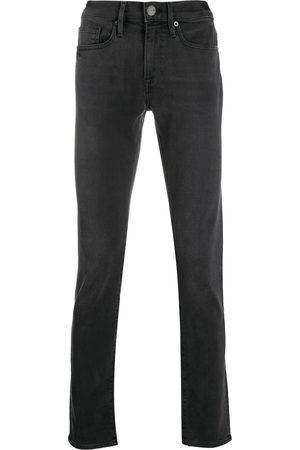Frame Skinny-jeans med mellemhøj talje