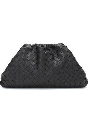Bottega Veneta The Pouch intrecciato leather clutch