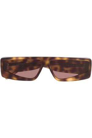 COURRÈGES EYEWEAR Solbriller - Tortoiseshell-effect sunglasses
