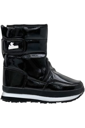 Rubberduck Sporty Snowjoggers, Quilted Patent PU