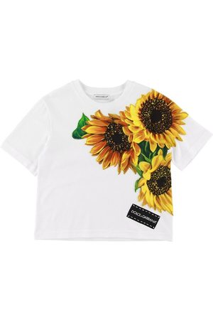 Dolce & Gabbana Kortærmede - T-shirt - Sunflower