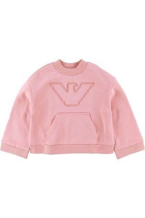 Emporio Armani Sweatshirts - Sweatshirt - Rosa Mayfair m. Logo