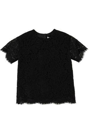 Dolce & Gabbana Kortærmede - T-shirt - m. Blonde