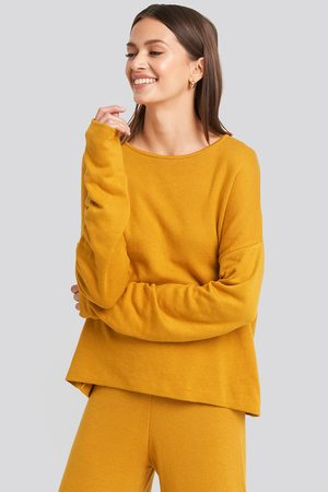 NA-KD Kvinder Strik - Lounge Round Neck Sweater