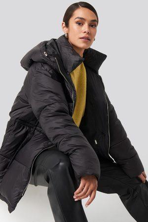 NA-KD Drawstring Padded Jacket