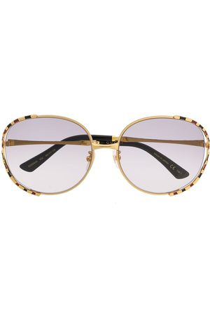 Gucci Striped frame sunglasses