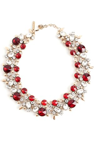 Oscar de la Renta Ruby necklace