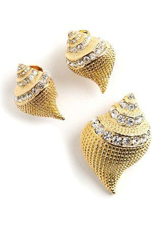 Kenneth Jay Lane Skal smykker sæt
