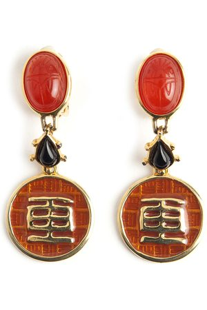 Givenchy Oriental earrings