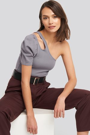 NA-KD Kvinder Toppe - Cut Out One Shoulder Top