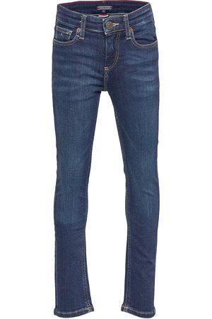 Tommy Hilfiger Boys Scanton Slim Ny Jeans Blå