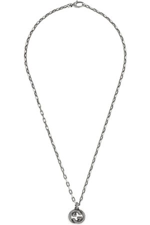 Gucci Silver necklace with Interlocking G