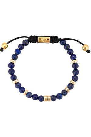 Nialaya Perlearmbånd med lapis lazuli