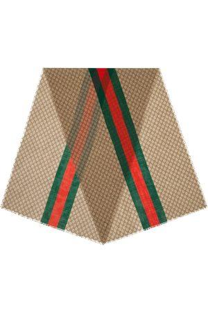 Gucci Tørklæde med monogram-tryk