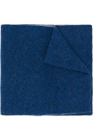 DELL'OGLIO Tofarvet tørklæde i kashmir