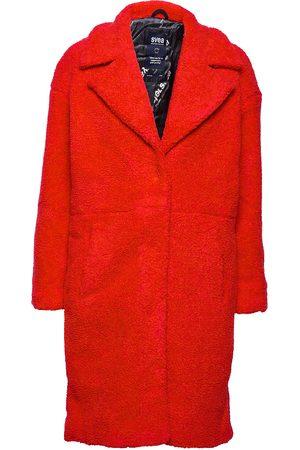 Svea Kvinder Pelsjakker - Marble Jacket Outerwear Faux Fur