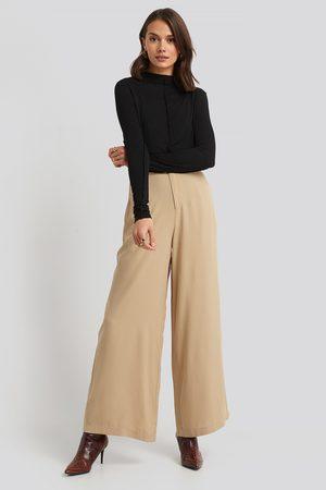 NA-KD Kvinder Kassebukser - Flowy Wide Leg Pants