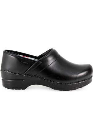 Sanita LEATHER DANISH CLOG
