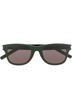 Saint Laurent SL51BSLIM solbriller med rektangulært stel
