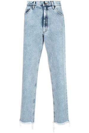 DUOltd Jeans med lige ben og mellemhøj talje