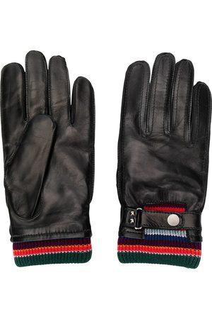 PAUL SMITH Mænd Handsker - Køre-handsker med stribet detalje
