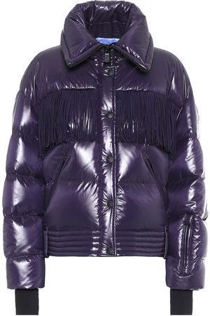 Moncler Genius 3 MONCLER GRENOBLE fringed down jacket