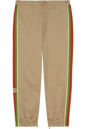Gucci Cotton pant with stripes