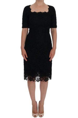 Dolce & Gabbana Floral Ricamo Sheath Dress