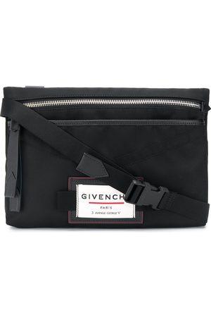 Givenchy Logo-patch messenger bag