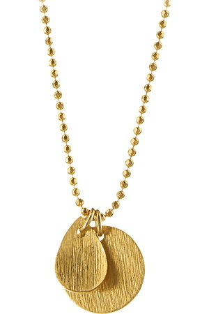 Pernille Corydon Coin & Drop Necklace Accessories Jewellery Necklaces Dainty Necklaces