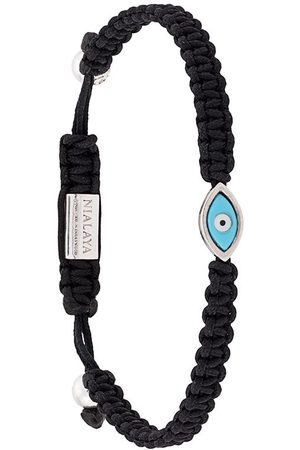 Nialaya Jewelry Mænd Armbånd - Evil Eye armbånd