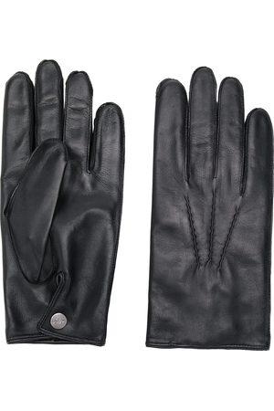 N.PEAL 007 handsker i læder & kashmirfor