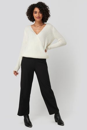 NA-KD High Waist Wide Trousers