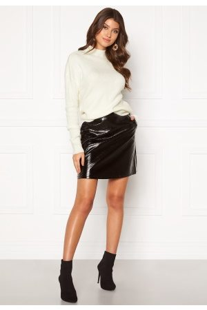 Only Bella Faux Leather Skirt Black 40