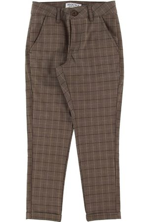 Hound Bukser - Fashion Chino Checks - Brown