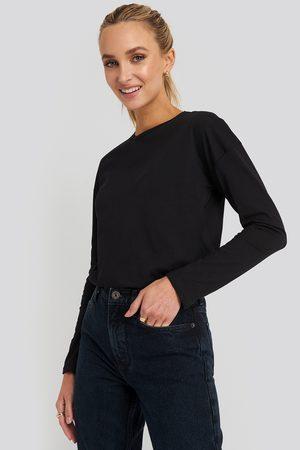 NA-KD Kvinder Toppe - Long Sleeve Basic Top