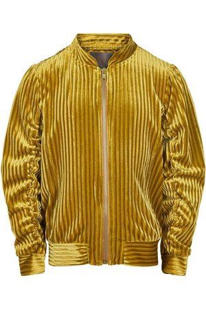 Creamie Bomber Jacket Velvet