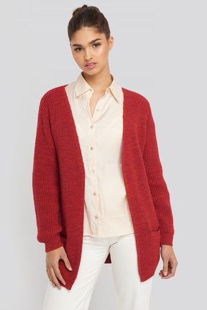 NA-KD Slouchy Open Front Cardigan