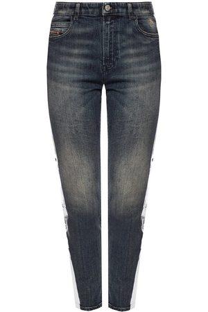Diesel 'Babhila-High-Sp' side stripe jeans