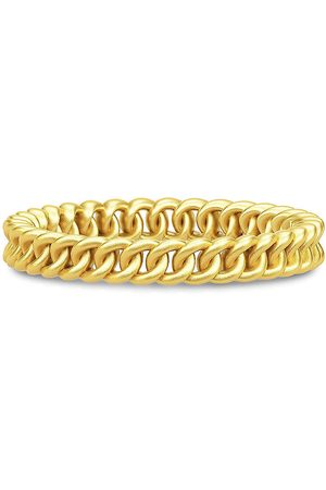 Julie Sandlau Chain Ring Small 52 - Gold Ring Smykker