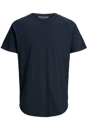 Jack & Jones Mænd Kortærmede - Økologisk Bomuld Buet Kant T-shirt Mænd