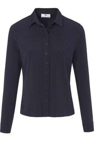 Peter Hahn Jerseyskjorte Fra blå