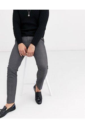 Burton Smarte gråternede bukser med smal pasform fra