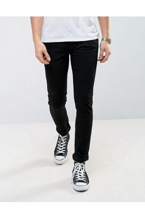 Nudie Jeans Skinny Lin sorte skinny jeans fra Co