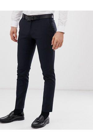 Burton Smarte navy superskinny bukser fra -Marineblå