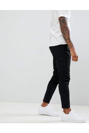 Only & Sons Sorte bukser i smal, tapered pasform fra