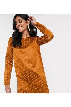 ASOS ASOS DESIGN Tall — Mini shift-kjole med nitter