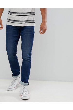 Only & Sons Mellemblå jeans i smal pasform fra