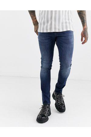ASOS Mørkvaskede super-skinny jeans fra